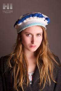 blueberet hat