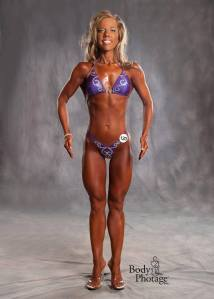 Amber in 2012, 9th place in her division at the Warrior Classic.