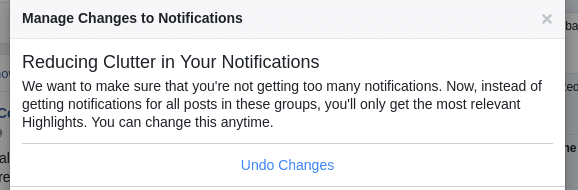 Facebook Catches Up to My De-Clutter Mode