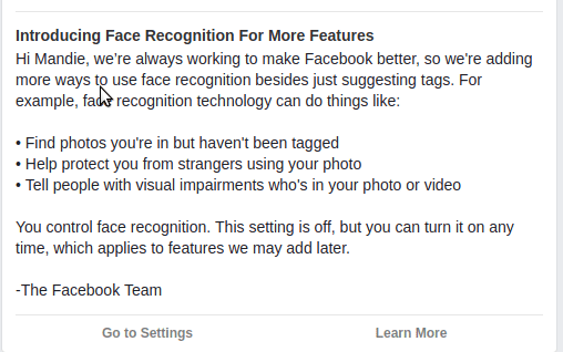Facebook- Refine Your Desires, Define Your Face